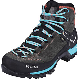 SALEWA MTN Trainer Mid GTX Shoes Women magnet/viridian green